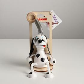 Игрушка-вознесенск «Собака с пятнышками» в упаковке