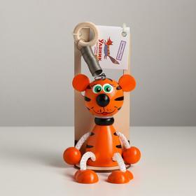 Игрушка-вознесенск «Тигр рыжий» в упаковке