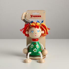 Игрушка-вознесенск «Маша в зеленом платье» в упаковке