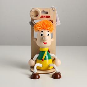 Игрушка-вознесенск «Мальчик с пропеллером» в упаковке