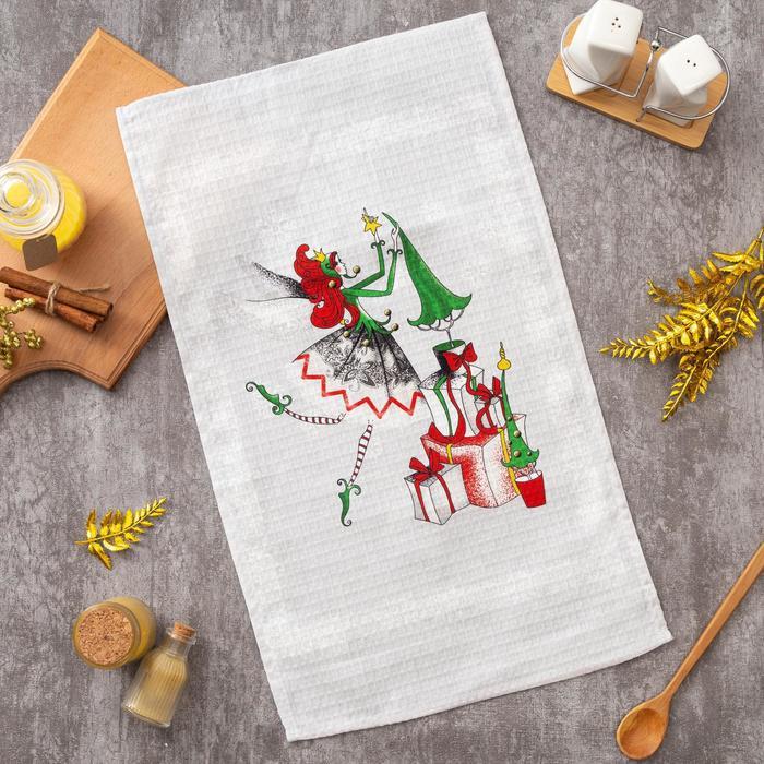 Полотенце Этель 34х58 см «Новогоднее настроение»