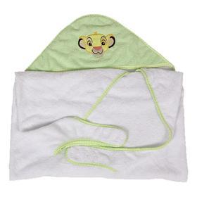 Полотенце-фартук c вышивкой «Король лев», цвет салатовый
