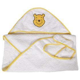 Полотенце-фартук c вышивкой «Медвежонок Винни Чудесный день», цвет жёлтый