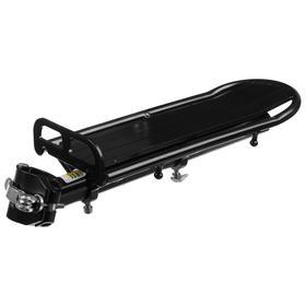Багажник задний FX-QX-062 на подседельную трубу, алюминий Ош