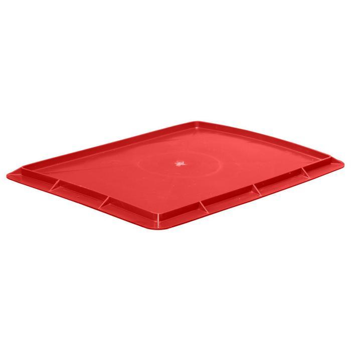 Крышка для ящика, 306П, 53,2х40см, красная