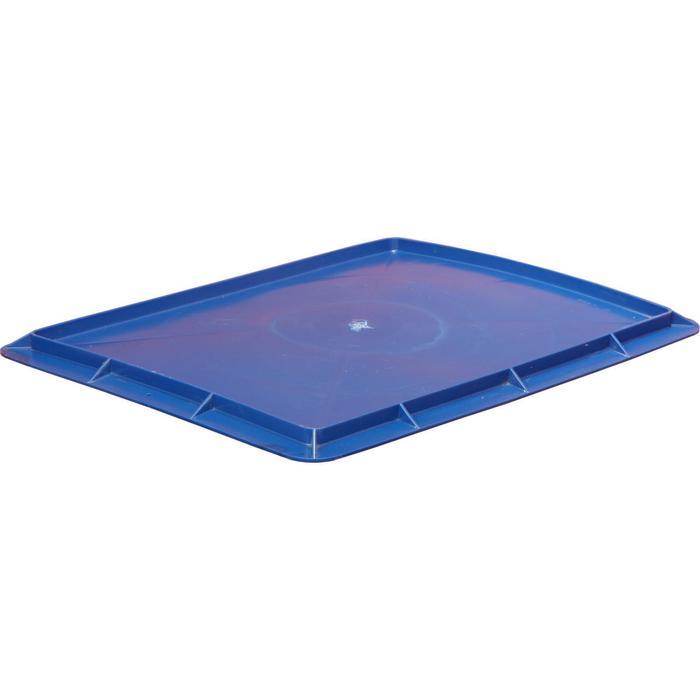 Крышка для ящика, 306П, 53,2х40см, синяя