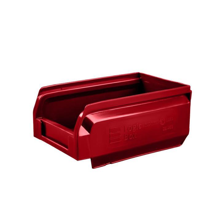 Ящик полимерный многооборотный, 22.401, 16,5х10х7,5см, красный