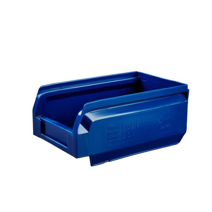 Ящик полимерный многооборотный, 22.401, 16,5х10х7,5см, синий
