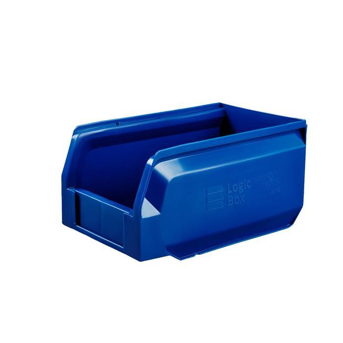 Ящик полимерный многооборотный, 22.402, 25х15х13см, синий
