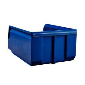 Ящик полимерный многооборотный, 22.403, 35х22,5х15см, синий Ош
