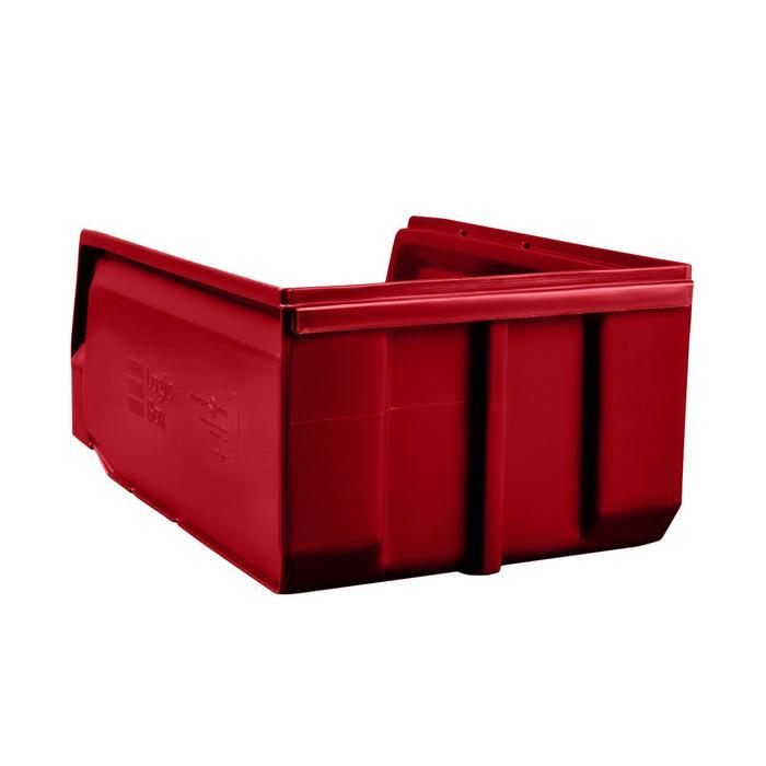 Ящик полимерный многооборотный, 22.403, 35х22,5х15см, красный