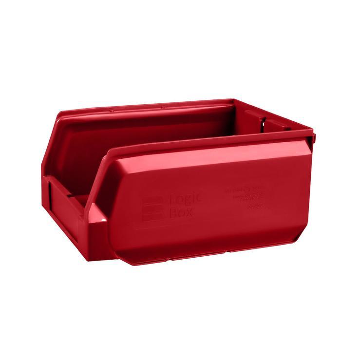 Ящик полимерный многооборотный, 22.412, 30х22,5х15см, красный