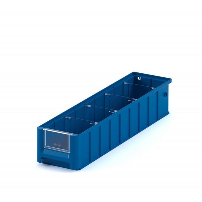 Контейнер полочный, SK 5109, 50х11,7х9см, синий