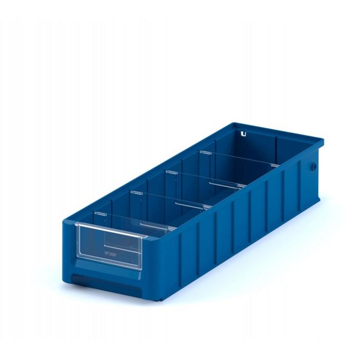 Контейнер полочный, SK 51509, 50х15,5х9см, синий