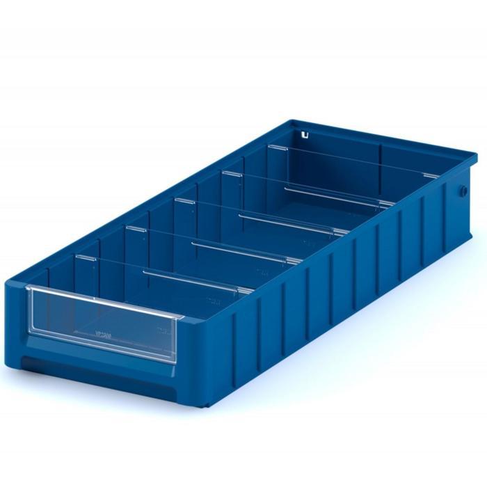 Контейнер полочный, SK 6109, 60х11,7х9см, синий