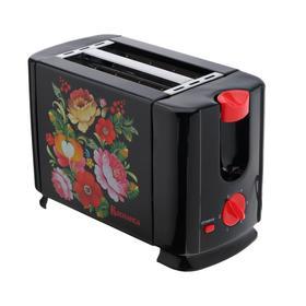 Тостер 'ВАСИЛИСА' ВА-102, 700 Вт, 6 режимов прожарки, таймер, чёрный Ош