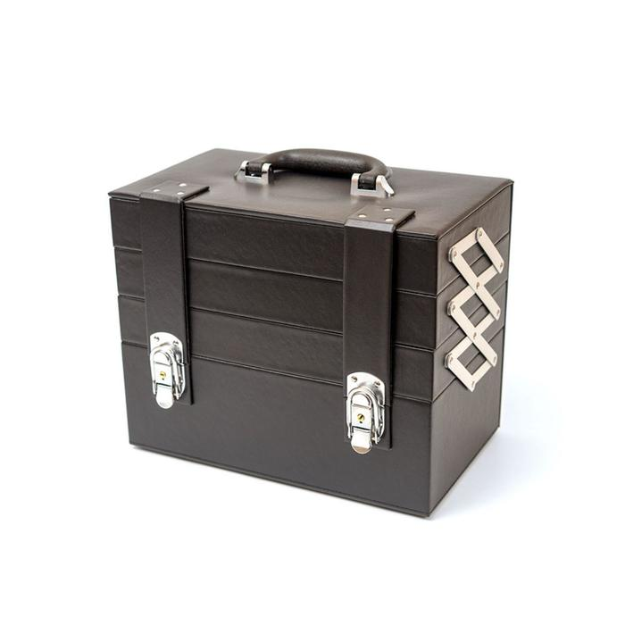 Бьюти-кейс для косметических средств, цвет чёрный