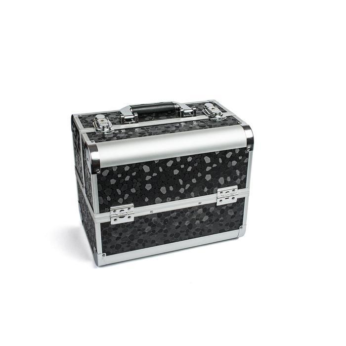Кейс маникюриста, цвет чёрный, металл