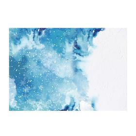 Фотофон «Зимняя акварель», 70 × 100 см, бумага, 130 г/м