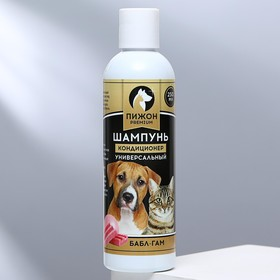 Шампунь-кондиционер 'Пижон Premium' для кошек и собак, с ароматом Bubble Gum, 250 мл Ош