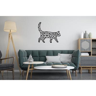 Деревянный интерьерный пазл EWA Design «Кошка» - Фото 1