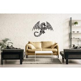Деревянный интерьерный пазл EWA Design «Дракон»