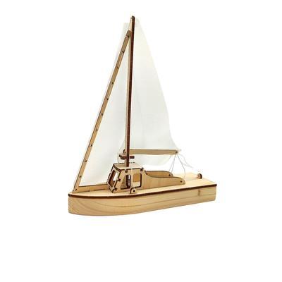 Конструктор-набор для сборки «Парусная яхта» - Фото 1
