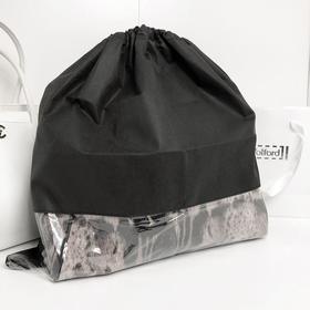 Чехол для хранения сумок с окном, 50x50 см, цвет черный Ош