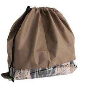 Чехол для хранения сумок с окном, 50x50 см, цвет коричневый Ош