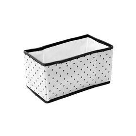 Коробка для вещей в прихожую, гардеробную Eco White, 25х15х14 см