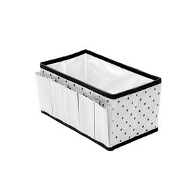 Органайзер на стол для косметики и украшений Eco White, 25х15х13 см