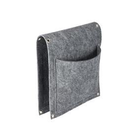 Перекидной органайзер с 2 карманами, фетр, 26х66 см