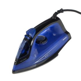 Утюг Centek CT-2360, 1400 Вт, антипригарная подошва, 200 мл, пар. удар, самоочистка, голубой