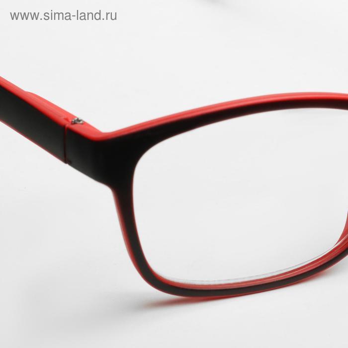Очки корригирующие B 18055, цвет красный, +2,5