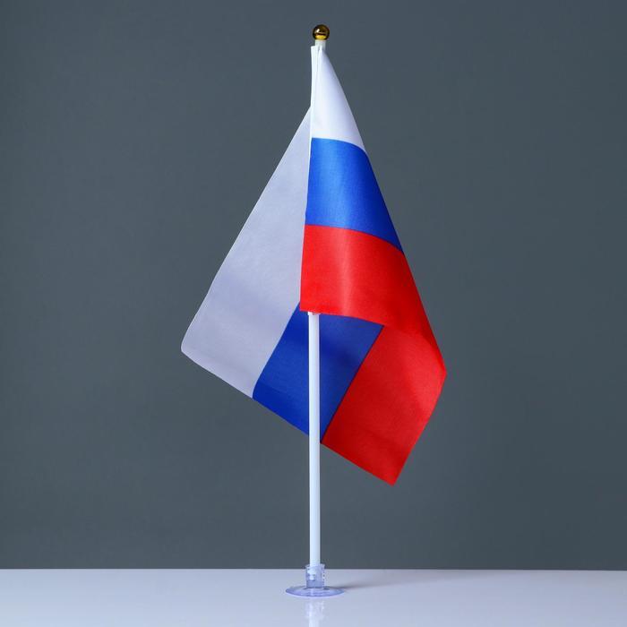 Держатель для флага - присоска силиконовая 12 шт 3х2 см