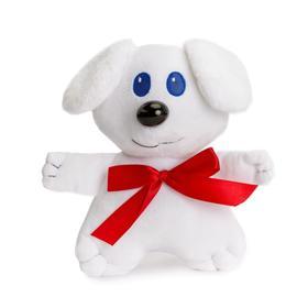 Мягкая игрушка «Пес Бантик», 27 см