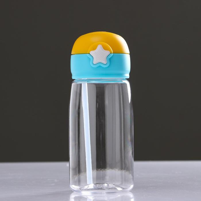 "Бутылка для воды ""Звёздочка"" 500 мл 7.3х8.5 см, микс"