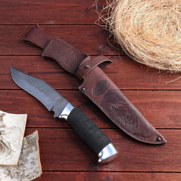 Нож охотничий «Каспий» Н73, ст. У10А-7ХНМ рукоять дюраль, микропора, 28 см