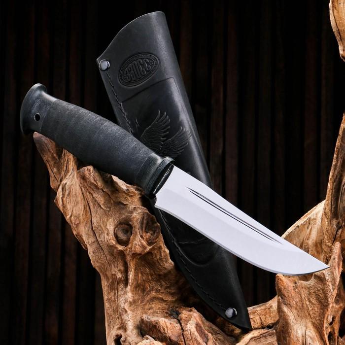 Нож охотничий «Кабальеро» Н90, ст. ЭИ-107, рукоять текстолит, микропора, 25,5 см