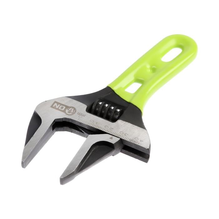 Ключ разводной c тонкими губками ON 04-01-250, 150 мм, 0-41 мм, CrV