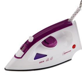 Утюг HOMESTAR HS-4001, 2000 Вт, тефлоновая подошва, 300 мл, фиолетовый
