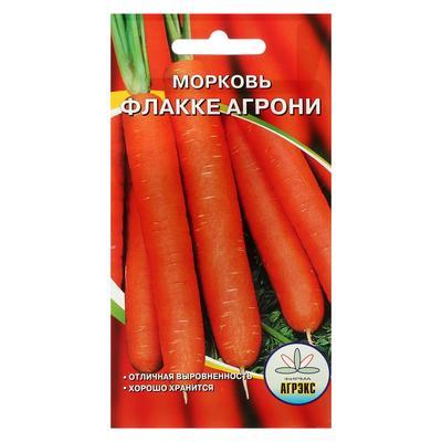 Семена Морковь Флакке агрони 2