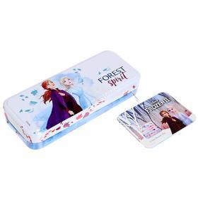 Игровой набор детской декоративной косметики, в пенале, большой, Disney Frozen
