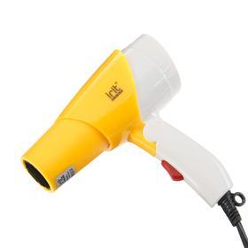 Фен Irit IR-3138, 750 Вт, 2 температурных режима, концентратор, складной, жёлтый