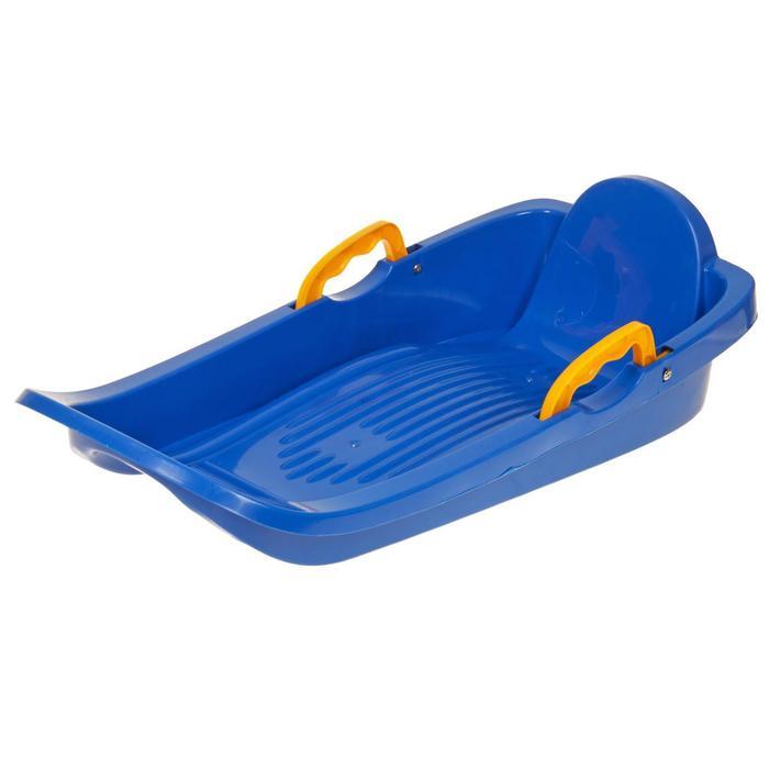 Санки-ледянки «Мини-боб», цвет синий