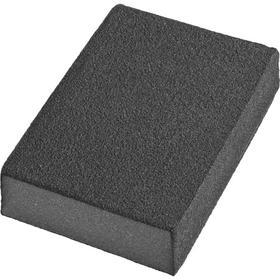 Губка шлифовальная DEXX 35637-320, четырехсторонняя, средняя жесткость, Р320, 100х68х26 мм