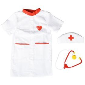 Игровой набор «Доктор» халат, колпак, стетоскоп