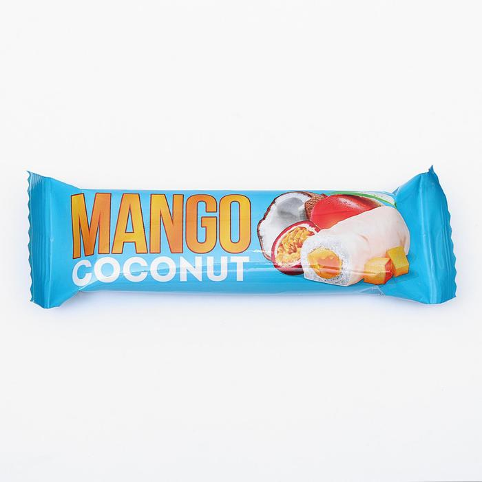 Батончик кокосовый, Манго, 40 г
