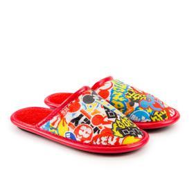 Тапочки детские, цвет красный, размер 31 Ош