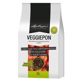 Субстрат для овощей Lechuza VEGGIEPON, 6 л